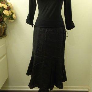Lauren Ralph Lauren Petite Black Skirt